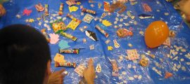 """就労移行支援TODAY三鷹 研修企画 「アプリ児童デイサービスの子どもたちへ""""夏まつり""""のプレゼント」"""